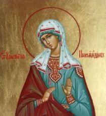 Икона Виктория Никомидийская (рукописная)