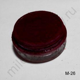 Пигмент косметический МАТОВЫЙ М-26 (бордовый)