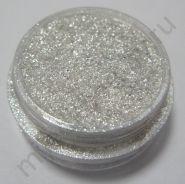 Пигмент косметический перламутровый P02 белый с серебряным блеском