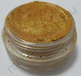 Пигмент косметический перламутровый P08 золото