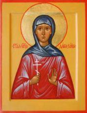 Дарья Зайцева (рукописная икона)