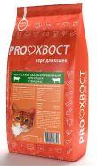 PROХВОСТ Корм сухой для кошек с говядиной (10 кг)