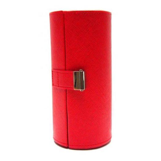 Шкатулка для 3 очков Diplomat DBS-6538 red