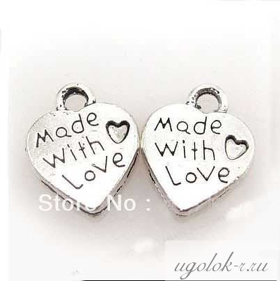 "Подвеска ""Made with love"""