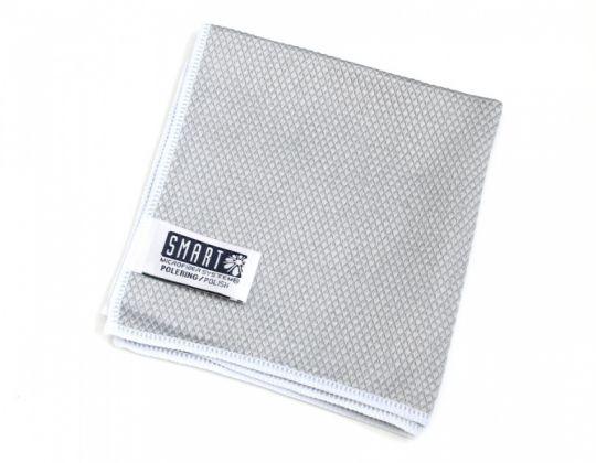 Smart Microfiber Салфетка для изделий из нержавеющей стали 32 х 31 см серая