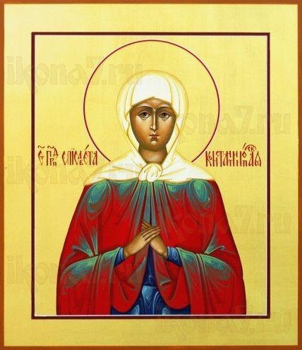 Икона Елизавета Чудотворица (рукописная)