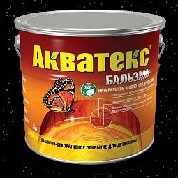 Натуральное масло для древесины Акватекс-Бальзам
