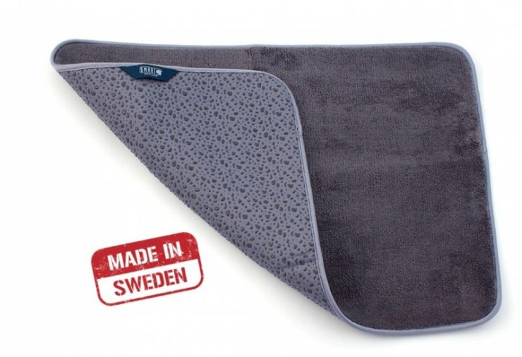 Smart Microfiber Коврик для ванной комнаты 65 х 45 см серый
