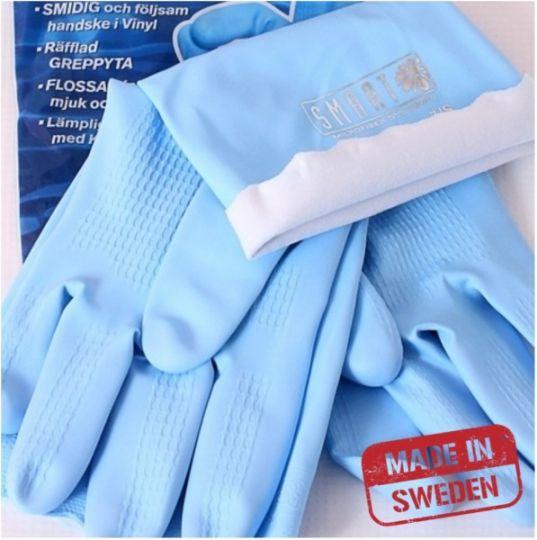 Smart Microfiber Универсальные виниловые перчатки, р.7/S