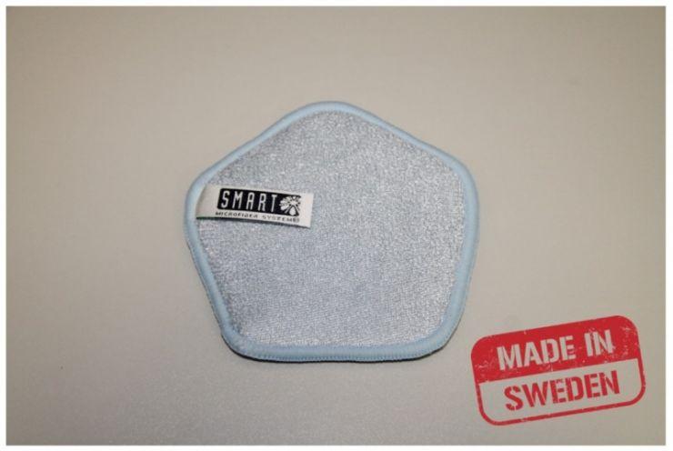 Smart Microfiber Губка для посуды голубая