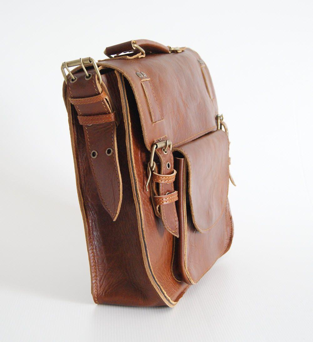 BUFALO LB01 кожаный портфель