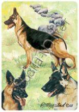 Немецкая овчарка карты игральные США