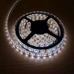 Светодиодная лента в силиконе 3528 12 V 4.8 W 60 LED (диодов) на 1 м белая-холодная
