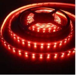 Светодиодная лента в силиконе 3528 12 V 9.6 W 120 LED (диодов) на 1 м красная