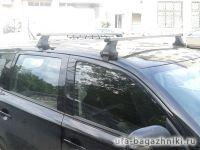 Багажник на крышу Mitsubishi Outlander 3, Атлант, прямоугольные дуги