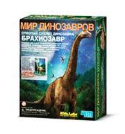 Откопай Скелет Брахиозавра