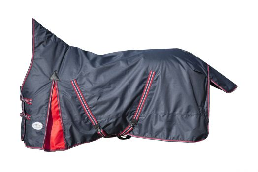"""Непромокаемая попона """"Horse Comfort"""", утеплитель 150 г/м. С защитой гривы. Новинка"""