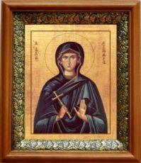 Евгения Римская (19х22), светлый киот