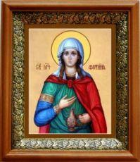 Светлана (Фотиния) Римская (19х22), светлый киот