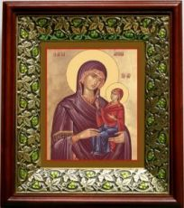 Анна Праведная, Мать Богородицы (21х24), киот со стразами