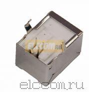 (100шт) РАЗЪЁМ Гнездо на плату 1*USB-B (металл) REXANT