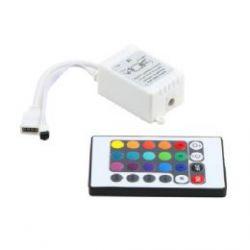 LED RGB controller  инфрокрасный 24 кнопки, 6А