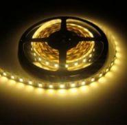 Светодиодная лента 5050 12 V 14.4 W 60 LED (диодов) на 1 м белая-теплая IP20
