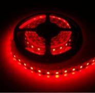 Светодиодная лента в силиконе 5050 12 V 14.4 W 60 LED (диодов) на 1 м красная IP65