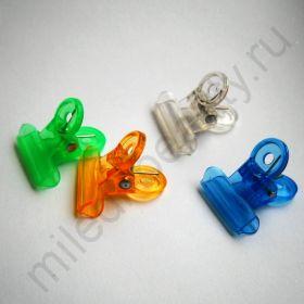 Зажим-прищепка для создания арки (пластик, маленький).