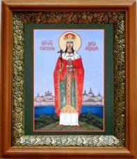 Александра Федоровна Романова (19х22), светлый киот