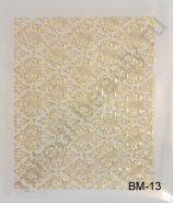 Наклейки 3D BM-13 (LX506) (золото)