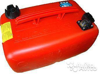 Топливный бак, 25 л (разъем Quick Connect, верхняя ручка) Quicksilver (США)