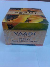 Крем для лица и тела «ПАПАЙЯ» с мёдом, экстрактом базилика и маслом жожоба 90 г