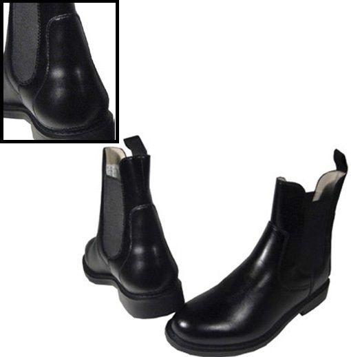 """Ботинки для наездника """"W-Trotting"""". Кожа"""