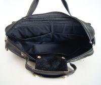 BUFALO TRP03 BLACK кожаный рюкзак-портфель-трансформер