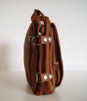 BUFALO TRP03 CANELO кожаный рюкзак-портфель-трансформер