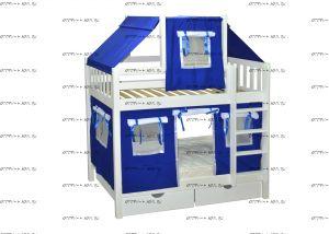 Кровать двухъярусная Скворушка-1