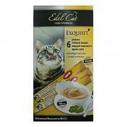 Edel Cat Крем-суп с птицей и печенью (6 шт.)