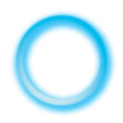 Светящийся браслет синий, 50 шт