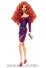 Коллекционная кукла Барби Сиреневое платье (Городское сияние) - City Shine Barbie Doll— Purple Dress