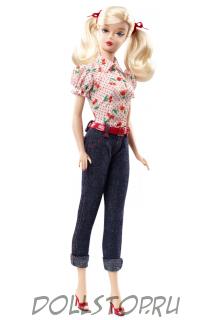 Коллекционная кукла Барби Вишневый пирог для пикника - Cherry Pie Picnic Barbie Doll