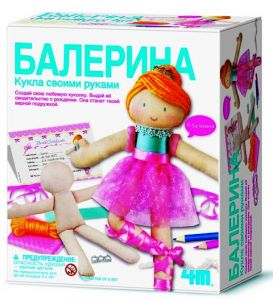 Кукла своими руками (Балерина)