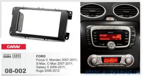 Carav 08-002 (2-DIN Ford Focus 2, Mondeo, S-Max, C-Max 2007-2011; Galaxy 2 2006-2011; Kuga 2008-2012)