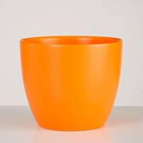 Кашпо керамическое Scheurich 920 Оранжевое, D13