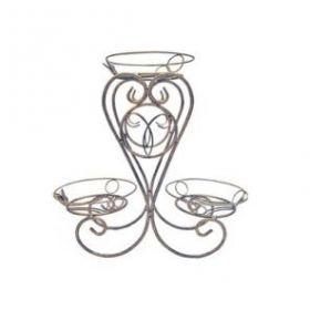 Подставка напольная для трех горшков