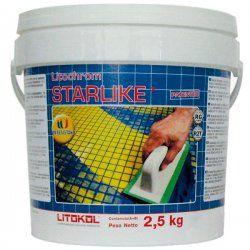 Затирка LITOCHROM STARLIKE С.270 (белый) 2,5кг