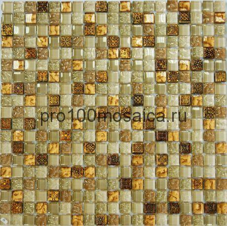 Beige Talisman . Мозаика серия GLASSTONE,  размер, мм: 310*310 (ORRO Mosaic)