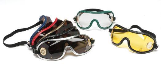 Защитные очки  для жокеев Horse Comfort. Из пленки. На резинке