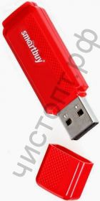 флэш-карта Smartbuy 8GB Dock Red