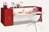 Шкаф-кровать-стол Avorio базовый